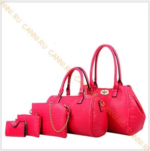 Набор сумок N-05.4 Розовая