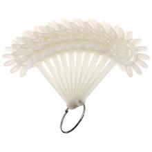 Дисплей-веер для образцов ромашка прозрачный