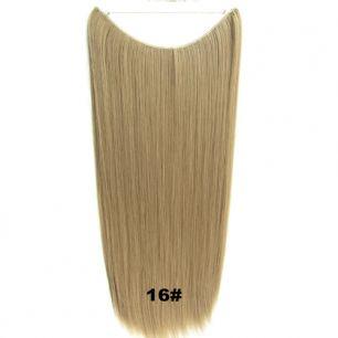 Искусственные термостойкие волосы на леске прямые №016 (60 см) - 100 гр.